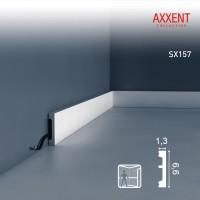 Плинтус напольный Orac Decor Axxent SX157F (13x66x2000 мм)