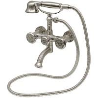 Смеситель для ванны Milacio Almeria MC.301.SL Серебро