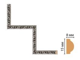 Декоративный угловой элемент Decomaster 130-1-44 (200x200 мм)