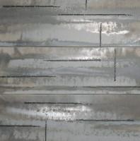 Панно Fap Ceramiche Evoque Acciaio Silver Inserto 91.5x91.5 fKVL