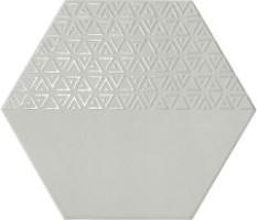 Керамогранит Realonda Ceramica Hexamix Opal Deco Grey 33x28.5