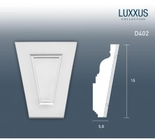 Фронтон Orac Decor Luxxus D402 (15x6x12 см)