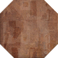 Керамогранит Manifattura Emiliana Clays Ottagona Paint Rust 32.5x32.5