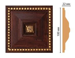 Вставка цветная Decomaster D209-1084 (100x100x22 мм)