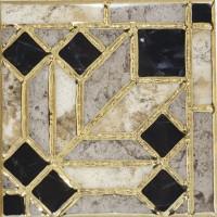 Декоративная вставка Infinity Ceramic Tiles Rimini Taco Gris 15x15