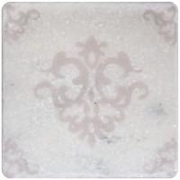 Декор Stone4home Marble White Motif 3 10x10