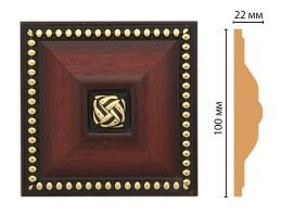 Вставка цветная Decomaster D209-52 (100x100x22 мм)