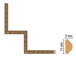 Декоративный угловой элемент Decomaster 130-1-3 (200x200 мм)