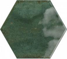 Плитка Ribesalbes Ceramica Hope Olive Hex Glossy 15x17.3 настенная PT03129