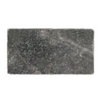 Керамогранит Stone4home Marble Black Tumbled 7.5x15