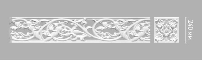 Молдинг Decomaster-3 98094 (240х30х2100 мм)