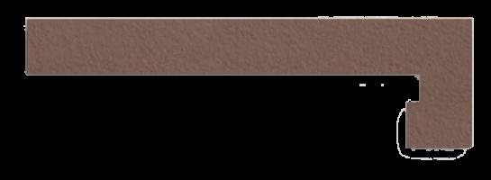 Плинтус для ступеней правый Venatto Texture Zanquin drch. Grain Tropico 19x42.4