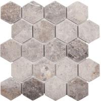 Мозаика Starmosaic Hex Hexagon Vlg Tumbled 30.5x30.5