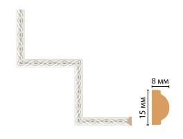 Декоративный угловой элемент Decomaster 130-1-42 (200x200 мм)