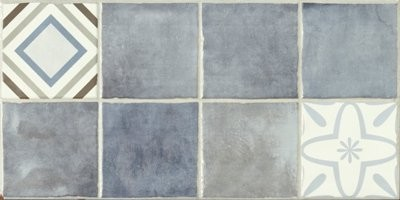 Плитка STN Ceramica Laval Decor Azul 25x50 настенная