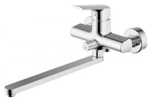 Смеситель для ванны Bravat Real F6121179CP-01L универсальный Хром