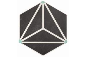 Керамогранит Realonda Ceramica Osaka Charcoal 28.5x33