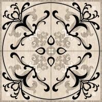 Панно Infinity Ceramic Tiles Ruskin Gris Roseton 120x120