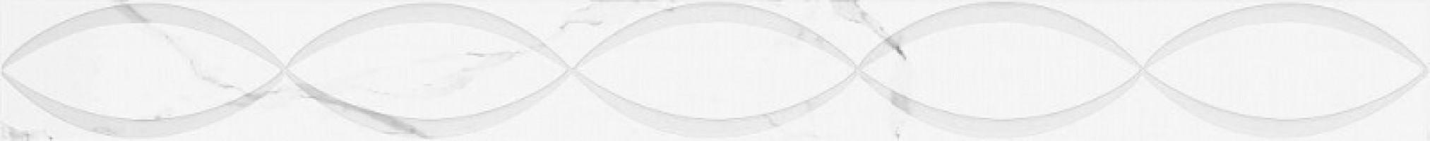 Бордюр 05-01-1-46-05-01-2625-2 Purity Assol 2 белый 4x40 Creto