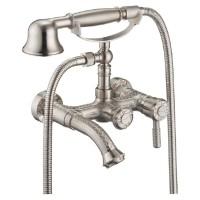Смеситель для ванны ZorG Antic A 200W-SL Серебро