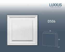 Панель накладная Orac Decor Luxxus D506 (43x1.5x43 см)