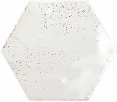 Плитка Ribesalbes Ceramica Hope White Hex Glossy 15x17.3 настенная PT03126