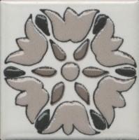 Вставка Kerama Marazzi Анвер 4 серый 4.85x4.85 OS/A178/21052