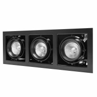 Светильник Lightstar Cardano MR16/HP16 черный 214038