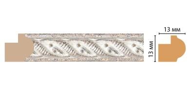Багет Decomaster 118-19 (13x13x2400 мм)