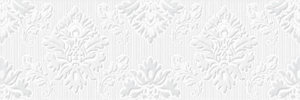 Плитка Omnia Delux Decor Blanco 25x75 настенная