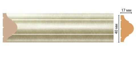Молдинг Decomaster D002-373/42 ДМ (40x17x2400 мм)