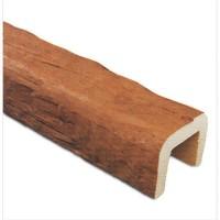Декоративная балка Рустик (дуб светлый) Decomaster 545 (190x170x3000 мм)