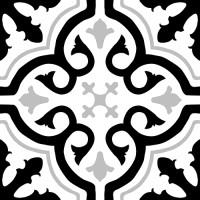 Керамогранит Kerlife Small Tile Pav. Cement-M Grace Black 20x20