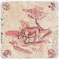 Декор Stone4home Provance Изразцы 2 10x10