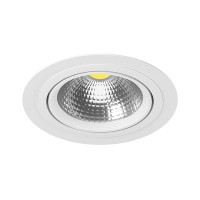 Комплект из светильника и рамки Lightstar Intero 111 Round (217916+217906) i91606