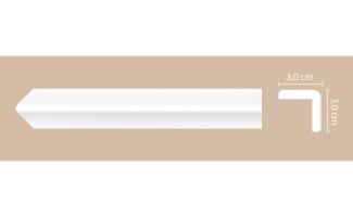 Молдинг Decomaster угловой A134/65 (30x30x2000 мм)