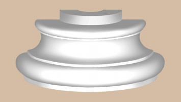 Полуоснование Decomaster DCK21H (O 340x140 мм)