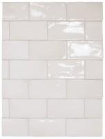 Плитка Equipe Manacor Manacor White 7.5x15 настенная 26909