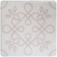 Декор Stone4home Marble White Motif 1 10x10