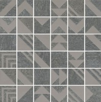 Декор Kerama Marazzi Про Нордик антрацит мозаичный 30x30 SBM014/DD2040