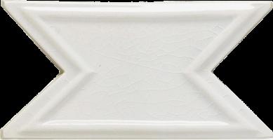 Бордюр Elios Ceramica Wine Country Swallow White 7.5x15