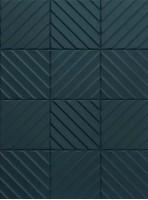 Керамогранит Marca Corona 4D Diagonal Deep Blue 20x20 E065