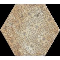 Керамогранит Monopole Ceramica Pompeia Decor Marron 20x24