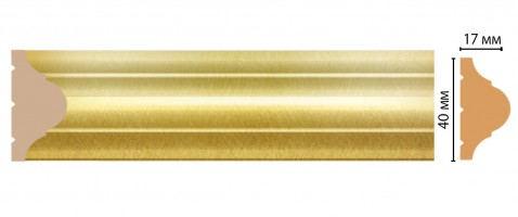 Молдинг Decomaster ДМ D002-374/42 (40x17x2400 мм)