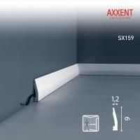 Плинтус напольный Orac Decor Axxent SX159 (12x60x2000 мм)