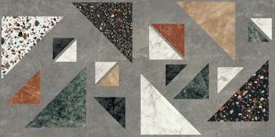 Керамогранит ABK Ceramiche Blend Concrete Grey Combo Ret 60x120 PF60006692