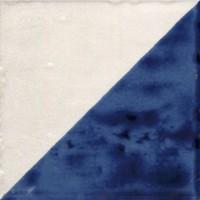 Декор Marca Corona Jolie Blanc Bleu Triangolo 10x10 8316
