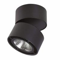 Светильник Lightstar Forte Muro накладной заливающего света со встроенными светодиодами черный 213837