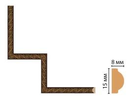 Декоративный угловой элемент Decomaster 130-1-1 (200x200 мм)