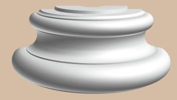 Полуоснование Decomaster 90030-4H (550х250х200 мм)